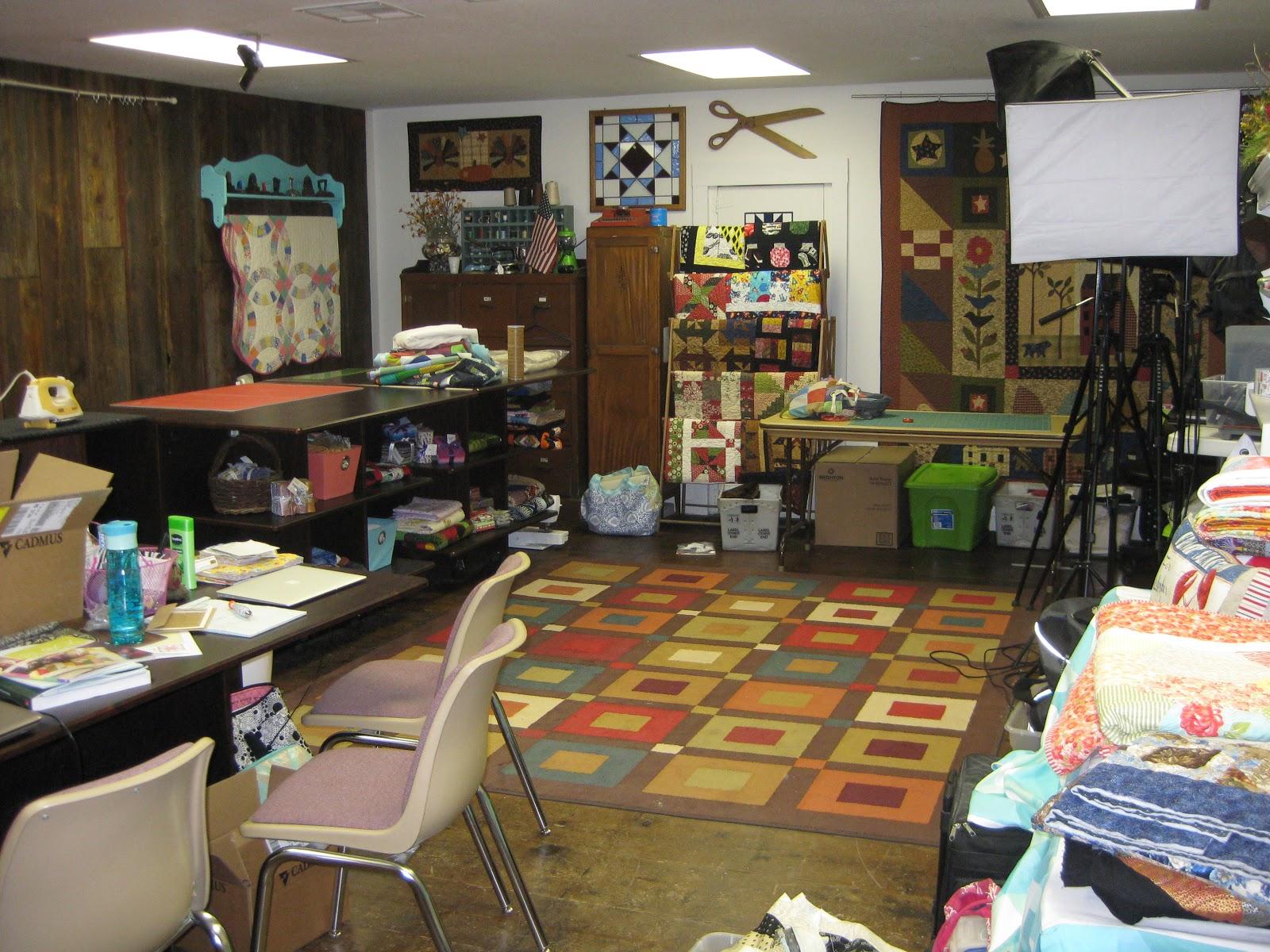 Jenny Doan studio, Missouri Star Quilt Company