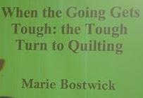 Marie Bostwick Paducah AQS Lecture