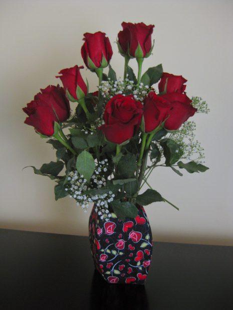Valentine's Day Vase-Contain It!