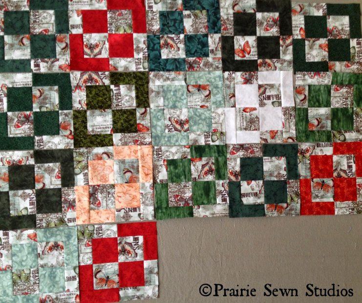 Prairie Sewn Studios Slice and Dice Moda Nine Patch