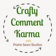 Crafty Comment Karma-A Crafting Community Link-Up, 4/10/15