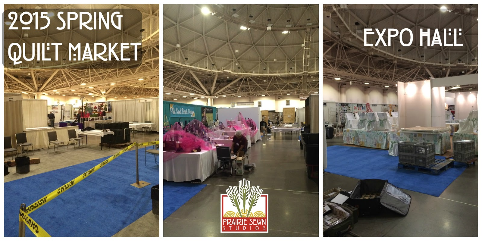 2015 Spring Quilt Market Expo Hall
