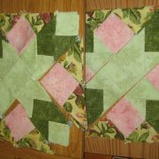 Work in Progress Wednesday-#42 Walk in the Park Mystery Quilt Continued