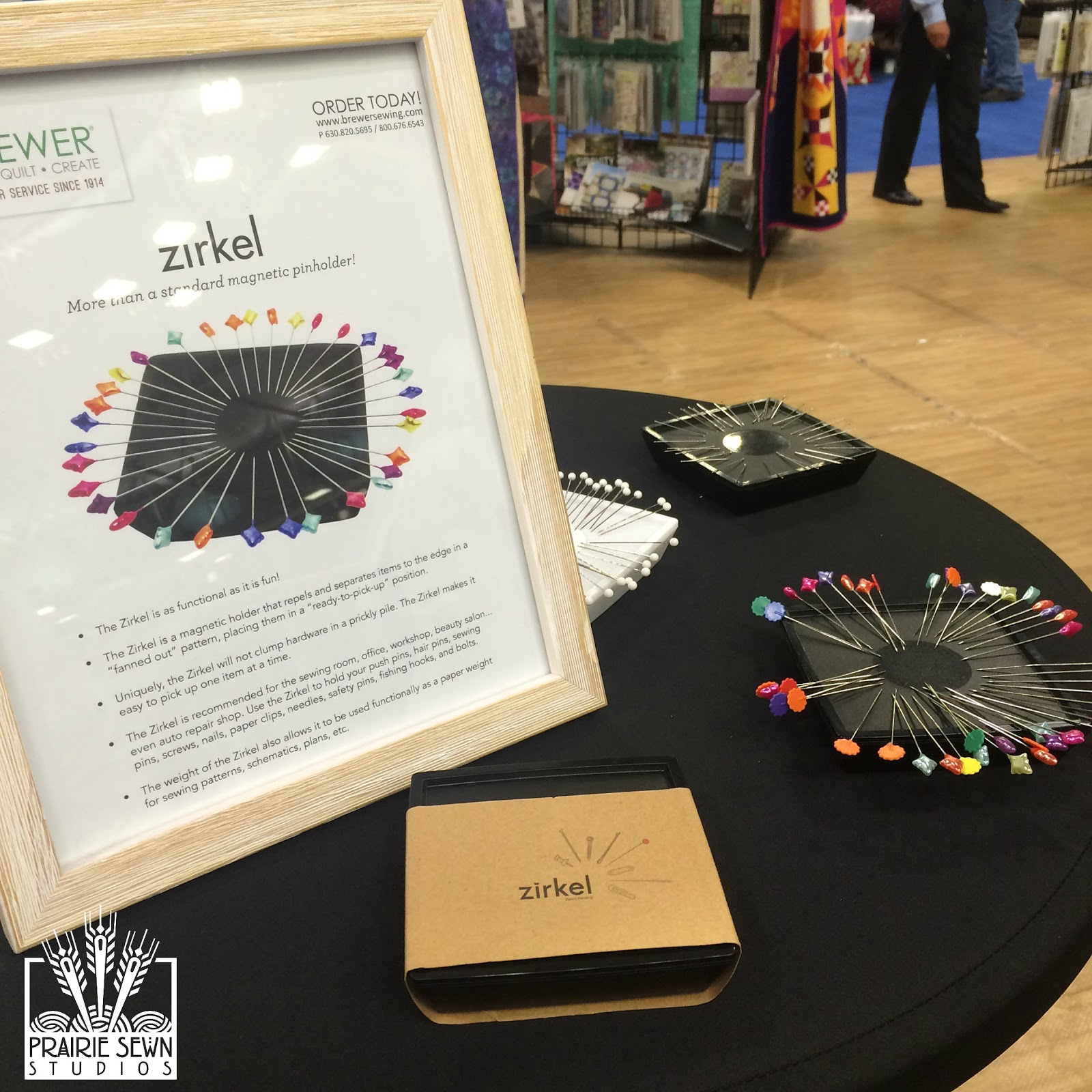 2015 Spring Quilt Market Zirkel Magnet