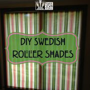 DIY Swedish Roller Window Shades