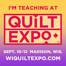 Wisconsin Quilt Expo Button