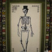 Work in Progress Wednesday-#45: Mr. Bones, a Halloween Wallhanging