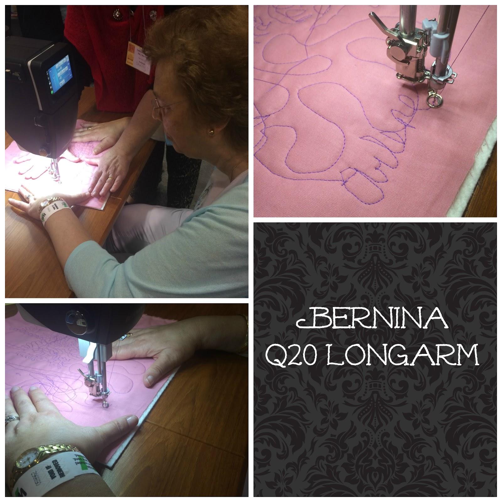 Bernina Q20 Longarm