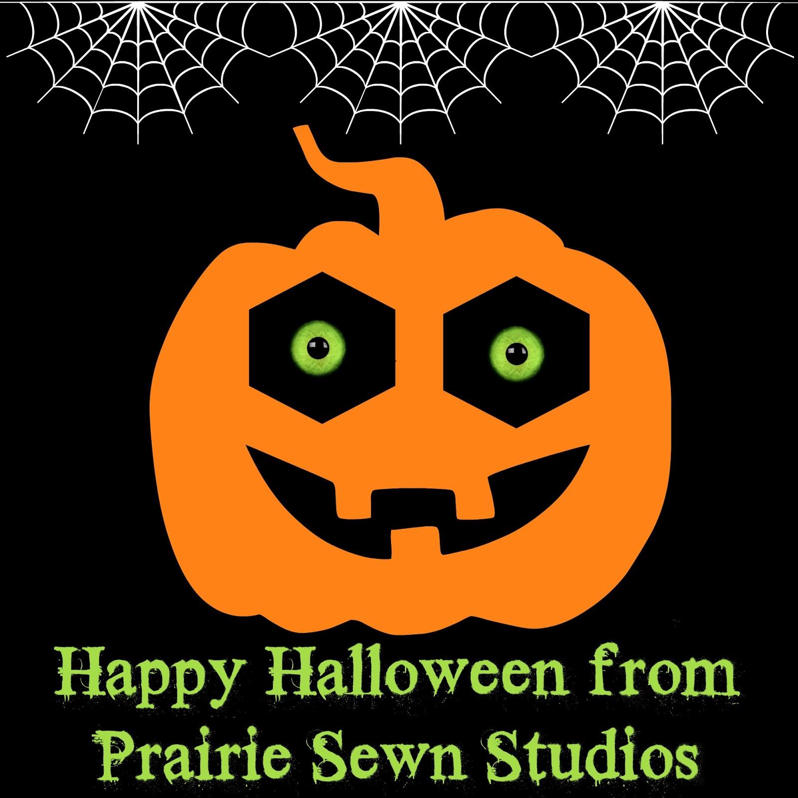 Happy Halloween from Prairie Sewn Studios