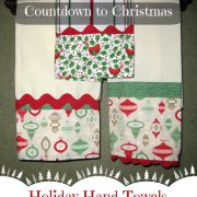 Holiday Hand Towels-Countdown to Christmas 2015
