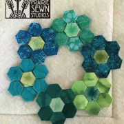 Inchy Hexagon Club Block from The Splendid Sampler