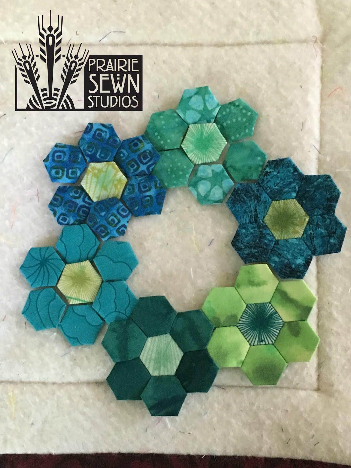 Inchy Hexagon Club Prairie Sewn Studios