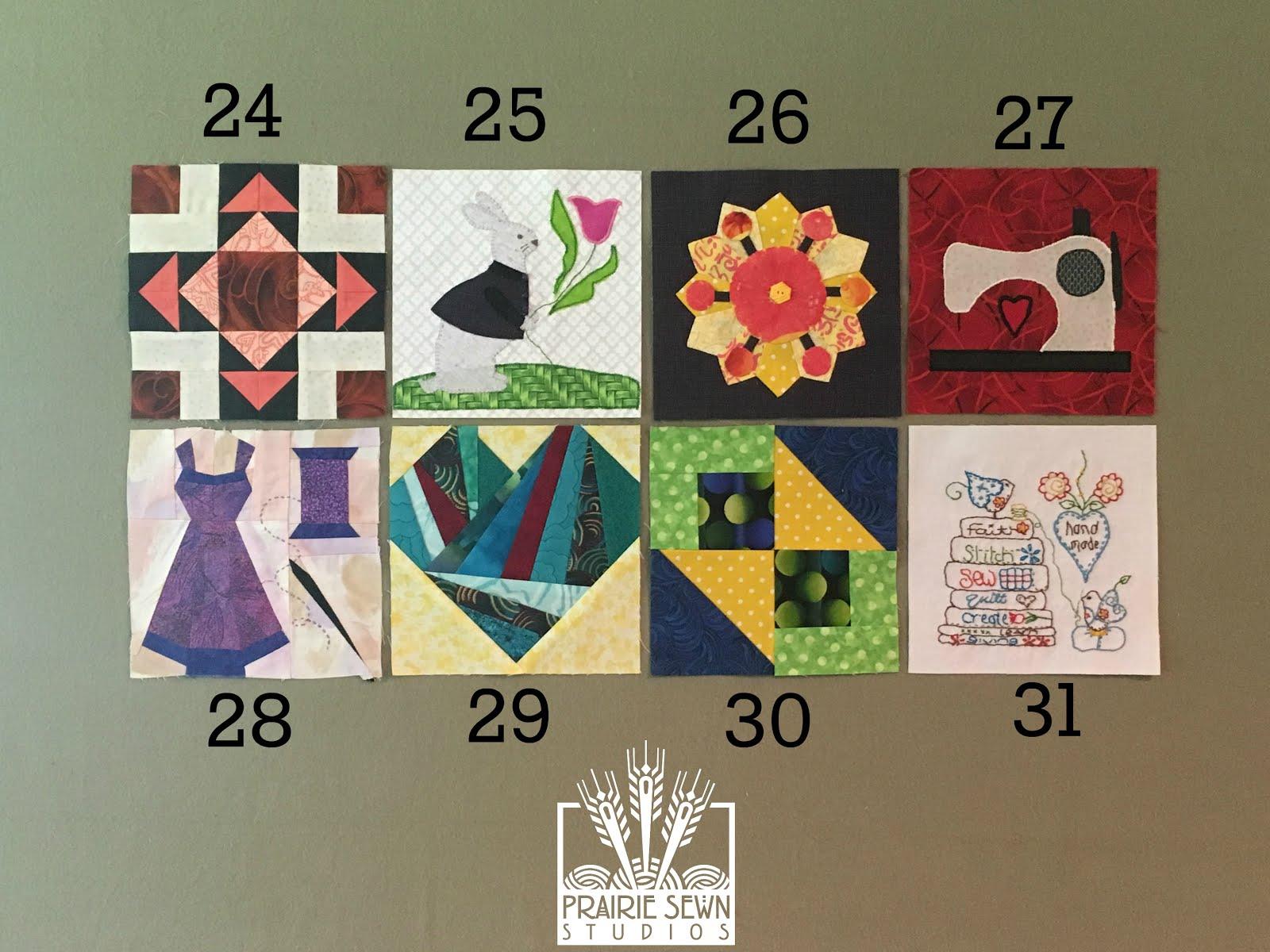 The Splendid Sampler Blocks 34-31