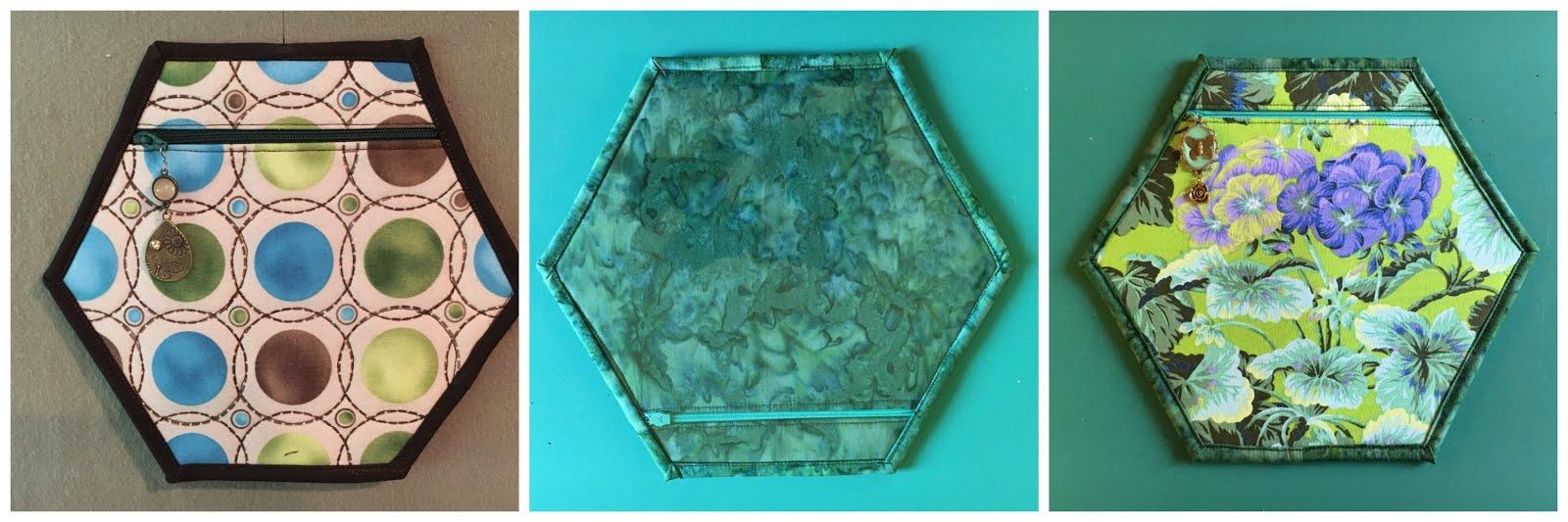 Hexagon Pouches