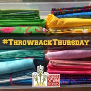 Fat Quarters – Storing the Stash for Throwback Thursday