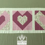Heart Wallhanging – The Splendid Sampler