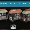 Paper-Crafted Trolley Project