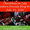 Christmas in July Pattern Parade – Fabric Gift Boxes for Mason Jars