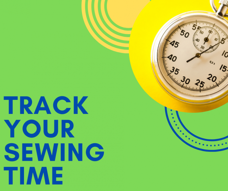 Track your sewing time.